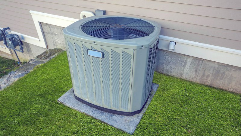AC unit that needs to be checked by air conditioning service technician